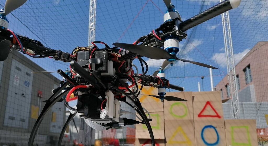 Leonardo Drone Contest Flight Campaign